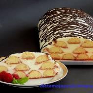 Ciasto malinowe marzenie - bez pieczenia