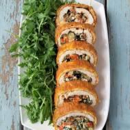 Rolada z kurczaka z serem i warzywami / Chicken Roulade with Vegetables