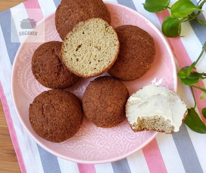 Keto bułki kokosowe bez glutenu