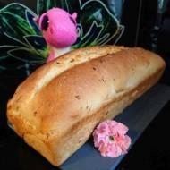 Chleb pszenny z prażoną cebulką
