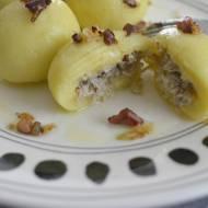 Kluski z gotowanym mięsem z rosołu - bez glutenu!