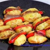 Pachnące ziemniaki -  pieczone na blasze