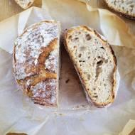 Chleb nocny na zakwasie (z garnka) / Overnight Sourdough Bread