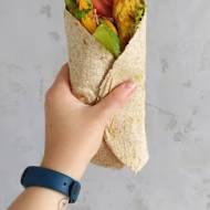 Domowe Rollo / Tortilla z kurczakiem i warzywami