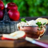 Lody jabłkowe z cynamonem