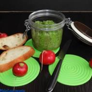 Pesto rzodkiewkowe z gorgonzolą