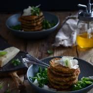 Wytrawne pancakes ze szpinakiem i białym serem!