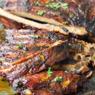 Żeberka z pieca dla mięsożernych
