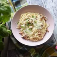 Spaghetti z kurkami  - pyszne
