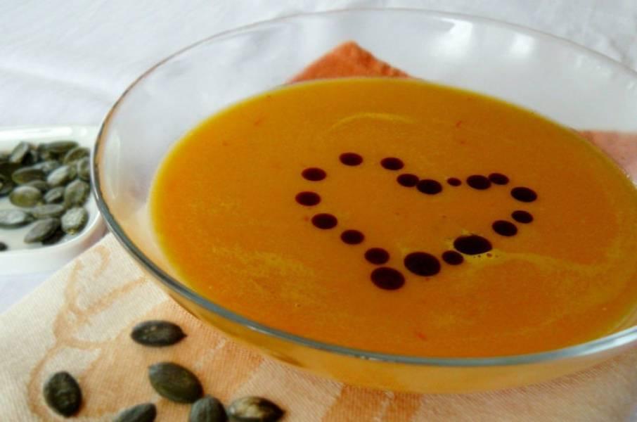 Zupa dyniowa krem z dyni i jabłka