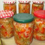 Warzywna sałatka obiadowa do słoików na zimę-pyszna+FILM