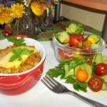 Zapiekany filet z kurczaka - przepis Caroline
