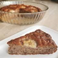 Zdrowe ciasto z bananami i orzechami.