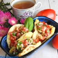 Tacos jogurtowe z salsą
