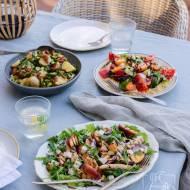 3 przepisy na sałatki na grilla lub letnie przyjęcie