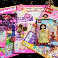 Księżniczka Mimi, Playmobil Pink i LEGO Disney Księżniczka, czyli czaspopisma dla dziewczynek od Blue Ocean