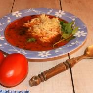 Pomidorowy rasam - tomato rasam - przysmak z Tamilnadu