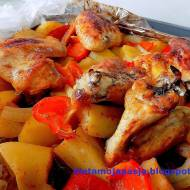 Pyszny obiad z rękawa do pieczenia