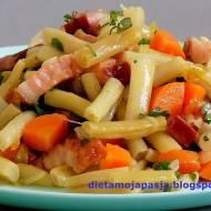 Fasolka szparagowa z boczkiem - na obiad
