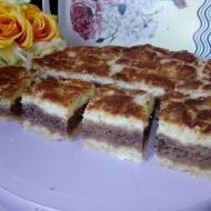 Ciasto sypane z jabłkami i kakao