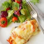 Zapiekana pierś kurczaka w majonezie