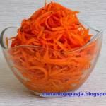 Sałatka koreańska z marchwi