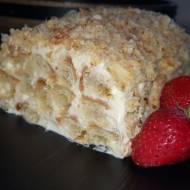 Ciasto z trzech składników, ciasto Napoleon.