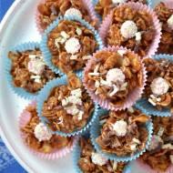 Zajmujemy dzieci #5: czekoladowe cisteczka z płatków kukurydzianych (chocolate cornflake cakes)...