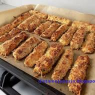 Paluszki z cukinii pieczone w piekarniku