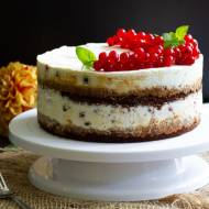 Torcik czekoladowy z mascarpone i owocami