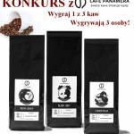 Wygraj 1 z 3 kaw od Cafe Panamera