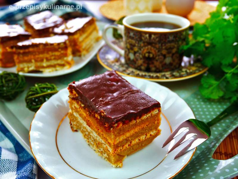 Ciasto Stefanka Cappuccino bez pieczenia