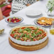 Tarta z sosem pomidorowym i tuńczykiem