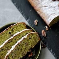 Ciasto z mąki z zielonego groszku