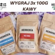 WYGRAJ 3 KAWY OD HERRERIA- 3 X 100 G
