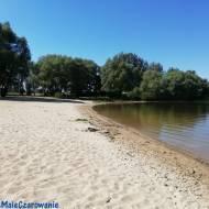 Plaża w Pęczniewie - Wylazłowie woj. łódzkie