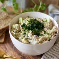 Pasta z awokado i tuńczyka – fit przepis