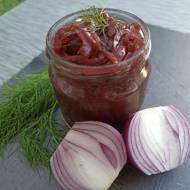 Aromatyczna konfitura z czerwonej cebuli
