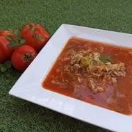 Zupa gołąbkowa - czyli masz ochotę na gołąbki, ale nie chce Ci się ich składać