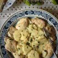 Galarepa na biało duszona – kuchnia galicyjska