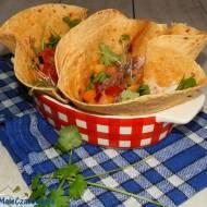 Tacos z wołowiną i sosem pomidorowo - śliwkowym