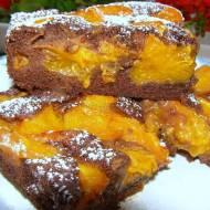 morelowe ucierane ciasto kakaowe...
