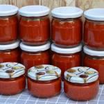 Domowy ketchup z cukinii