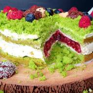 Ciasto leśny mech.