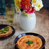 Hummus z warzywami