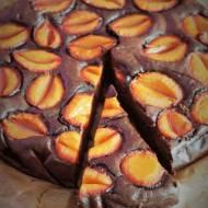 Keto brownie ze śliwkami (Paleo, LowCarb)