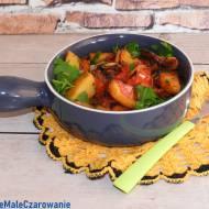 Ziemniaki z pomidorami