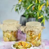 Jesienna sałatka do słoików