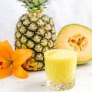 Smoothie melonowo – ananasowe