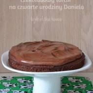 Najłatwiejszy torcik czekoladowy na 4 urodziny Daniela!  :)